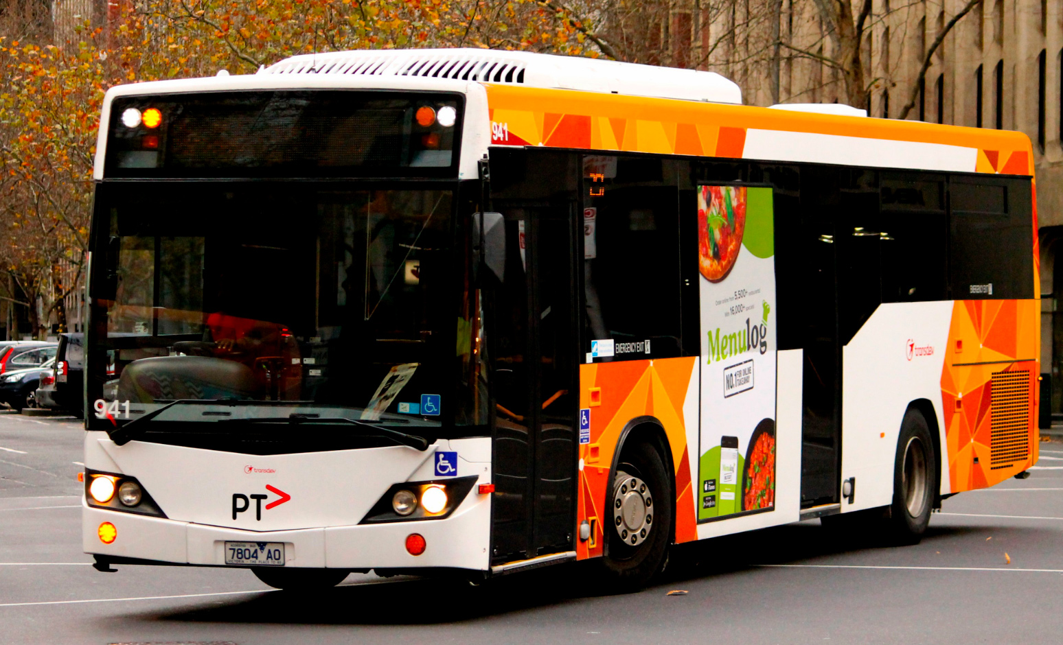 Easy access to bus routes