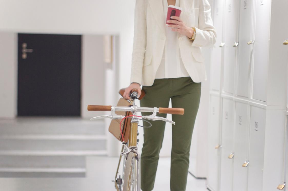 Bike storage>
